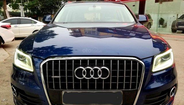 Bán xe Audi Q5 SX 2013, màu xanh, một chủ sử dụng