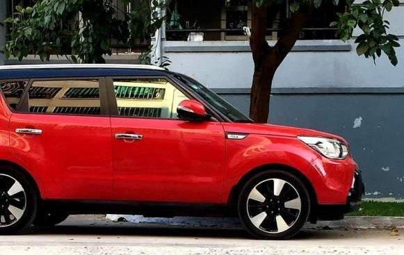 Bán Kia Soul năm 2014, màu đỏ, nhập khẩu nguyên chiếc