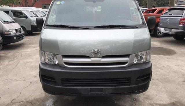 Bán xe Toyota tải Van 3 chỗ mập máy dầu, đời 2008, xe đã hoán cải ra để chạy hàng vào phố