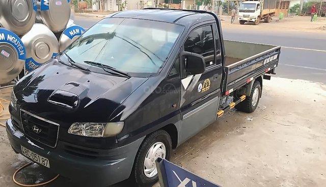 Bán Hyundai Libero sản xuất năm 2003, màu xanh lam, nhập khẩu, xe chính chủ bảo dưỡng kỹ