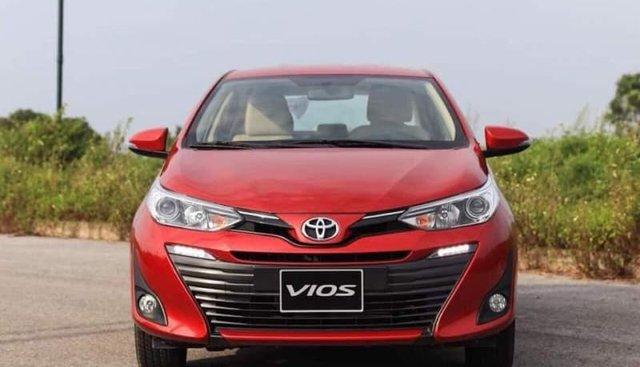 Cần bán Toyota Vios năm 2019, màu đỏ, 500tr