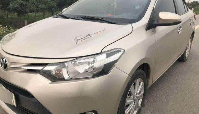 Bán Toyota Vios E sản xuất năm 2016, màu vàng