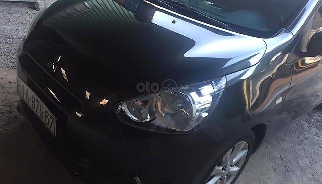 Bán xe Mitsubishi Mirage đời 2013, màu xám, nhập khẩu, giá cạnh tranh