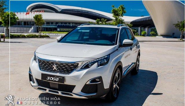 Peugeot Biên Hòa bán xe Peugeot 3008 All New 2019 đủ màu, giao xe nhanh - Giá tốt nhất - 0933 805 806 để hưởng ưu đãi