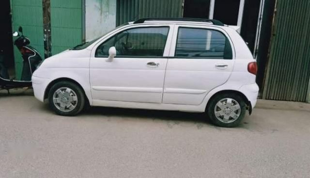Cần bán xe Chevrolet Matiz SE đời 2007, màu trắng