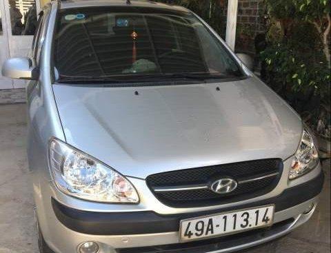 Bán Hyundai Getz đời 2009, màu bạc, nhập khẩu