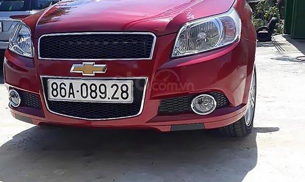 Bán Chevrolet Aveo 1.4L LTZ AT năm sản xuất 2018, màu đỏ