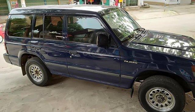 Bán Mitsubishi Pajero 2.4 năm 1998, màu xanh lam, nhập khẩu