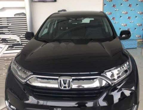 Bán Honda CR V L đời 2019, màu đen, nhập từ Thái