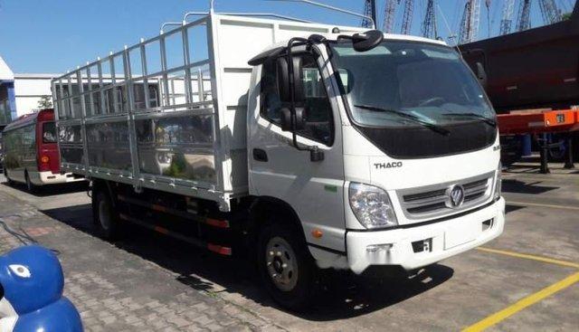 Bán Thaco OLLIN sản xuất 2019, màu trắng, 489tr