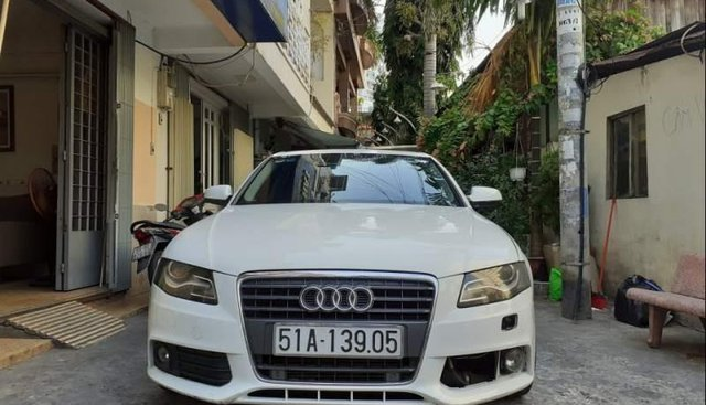 Bán xe Audi A4 1.8T năm sản xuất 2010, màu trắng, xe nhập còn mới