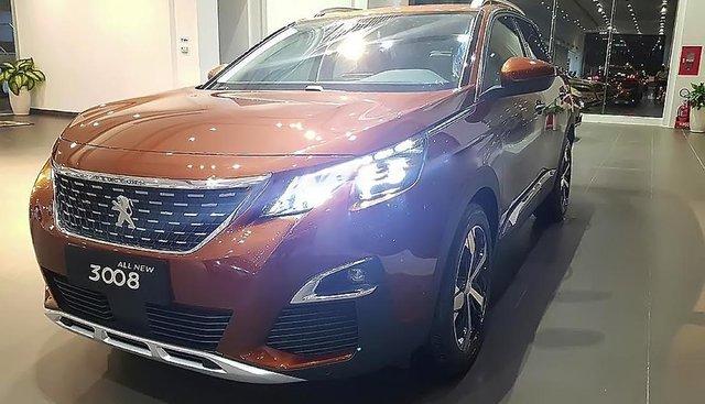 Peugeot Quảng Trị bán Peugeot 3008 1.6 AT đời 2019, màu nâu