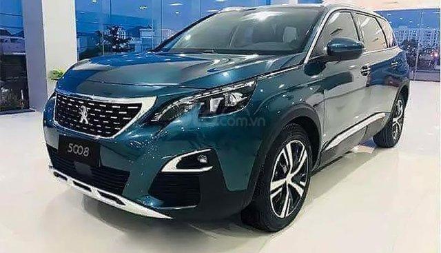 Bán xe Peugeot 5008 1.6 AT năm sản xuất 2019, màu xanh lam, mới 100%