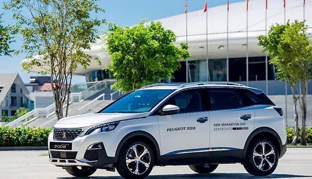 Bán Peugeot 3008 1.6 AT đời 2019, màu trắng, mới 100%