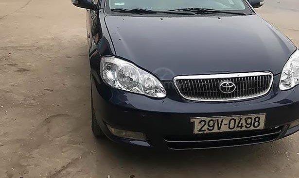 Cần bán xe Toyota Corolla Altis 1.8G 2004, màu xanh lam, nhập khẩu