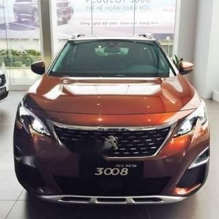 Bán ô tô Peugeot 3008 năm sản xuất 2019, màu nâu