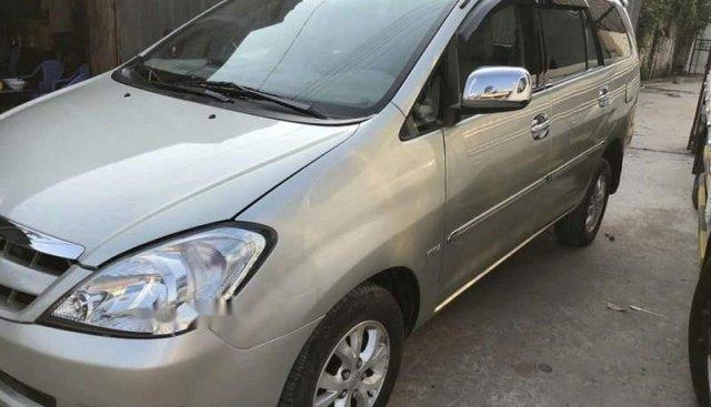 Bán xe Toyota Innova G đời 2006, màu bạc, nhập khẩu nguyên chiếc chính chủ