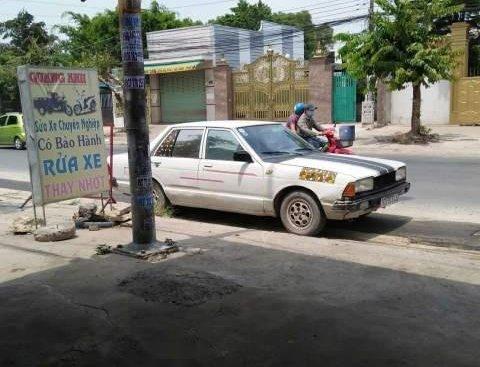Bán gấp Nissan Pulsar sản xuất năm 1990, màu trắng, nhập khẩu