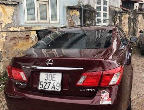 Cần bán lại xe Lexus ES 350 đời 2007, màu đỏ, nhập khẩu nguyên chiếc chính chủ