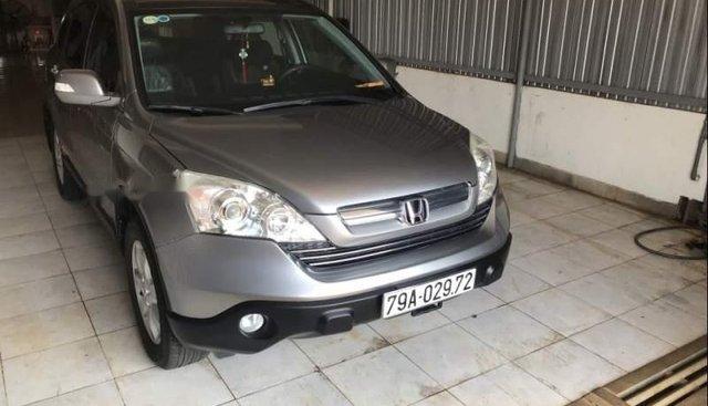 Bán xe Honda CR V sản xuất năm 2009, màu xám xe gia đình