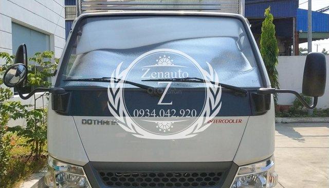 Bán xe IZ49 Đô Thành New All, động cơ Isuzu, thùng kín 4m3, mạnh mẽ cùng turbo tăng áp
