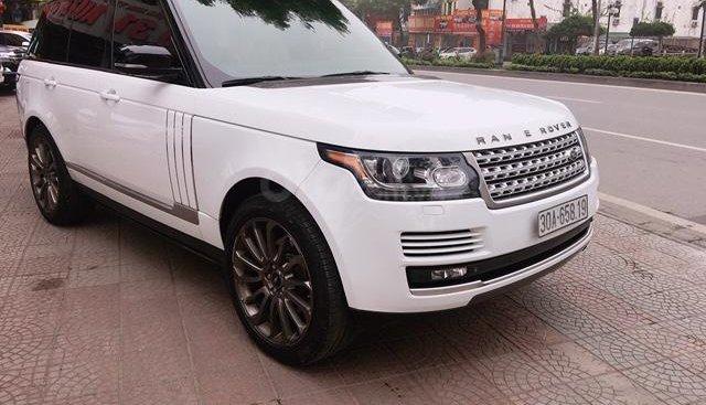 Cần bán xe LandRover Range Rover HSE đời 2014, màu trắng, nhập khẩu nguyên chiếc