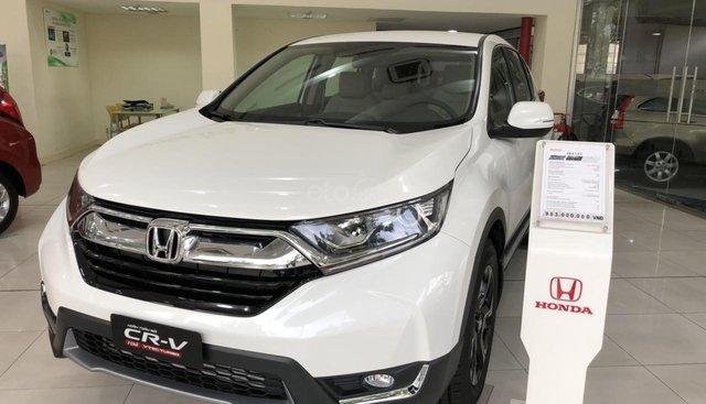 Bảng giá xe ô tô Honda CRV mới nhất, kèm ưu đãi trong tháng 6, xem ngay
