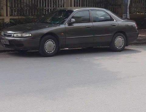 Cần bán gấp Mazda 626 đời 1996, màu xám, 90tr