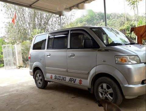 Cần bán lại xe Suzuki APV đời 2007, màu bạc, giá tốt