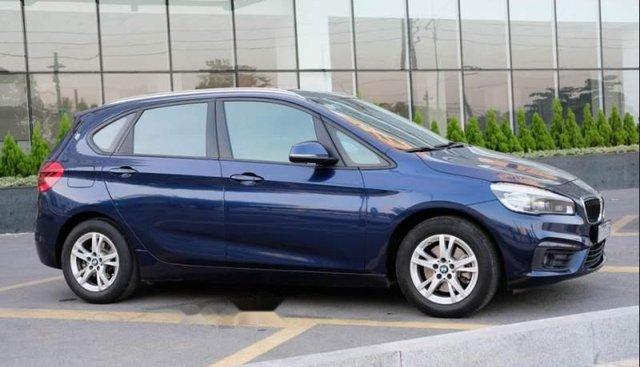 Cần bán gấp BMW 3 Series 218i sản xuất 2015, màu xanh lam, xe nhập số tự động, giá tốt