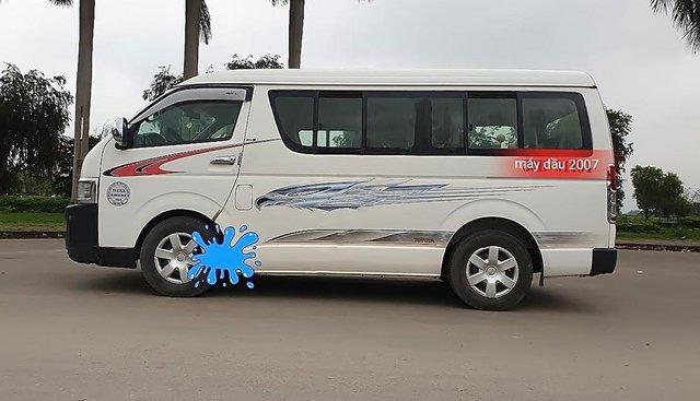 Cần bán xe Toyota Hiace sản xuất 2007, màu trắng
