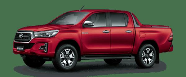 HOT -Bán Toyota Hilux năm 2019, màu đỏ, nhập khẩu thuế 2%, duy nhất 1 xe