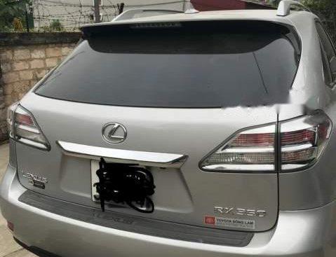 Bán ô tô Lexus RX 350 đời 2009, màu bạc, nhập khẩu nguyên chiếc