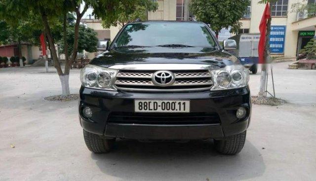 Cần bán gấp Toyota Fortuner đời 2011, màu đen