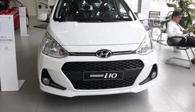 Bán Hyundai Grand i10 đời 2019, màu trắng, giá 325tr