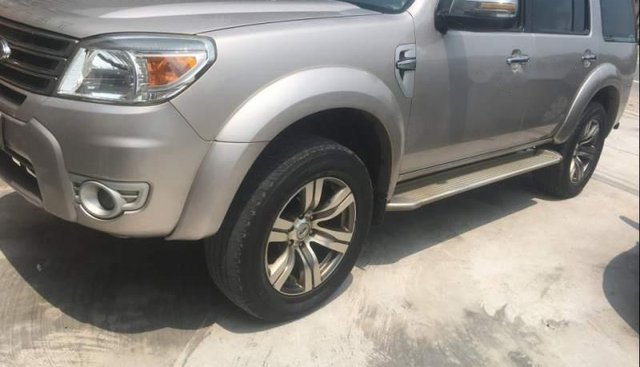 Cần bán lại xe Ford Everest sản xuất năm 2013, màu bạc