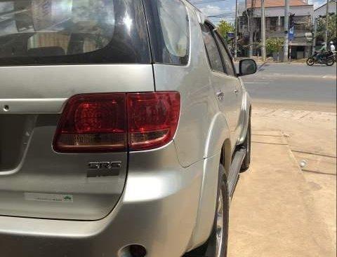 Bán Toyota Fortuner năm sản xuất 2008, màu bạc, nhập khẩu chính chủ