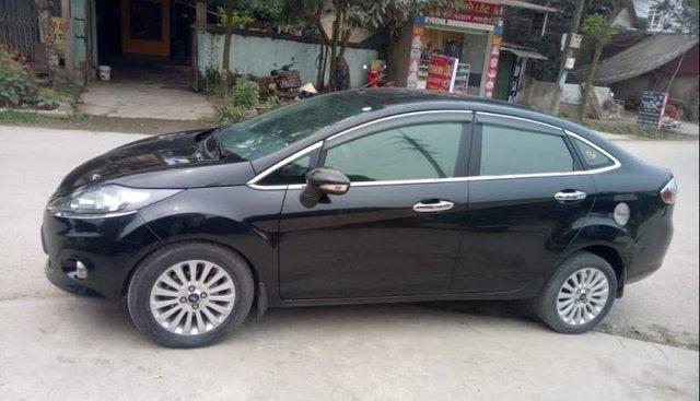 Bán Ford Fiesta 1.6 đời 2011, màu đen, số tự động