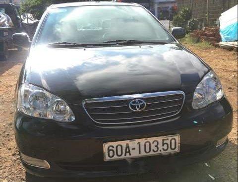 Bán Toyota Corolla altis 1.8 MT 2004, màu đen, giá 270tr