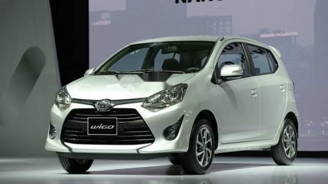 Cần bán xe Toyota Wigo năm sản xuất 2019, màu trắng, xe nhập, 345 triệu