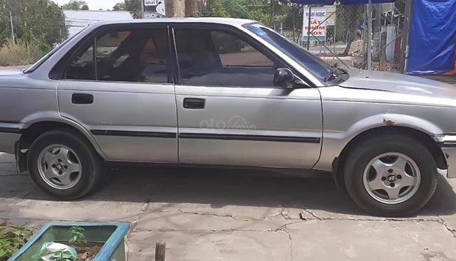 Bán Toyota Corolla 1.6 MT 1990, màu bạc, xe nhập, 60 triệu