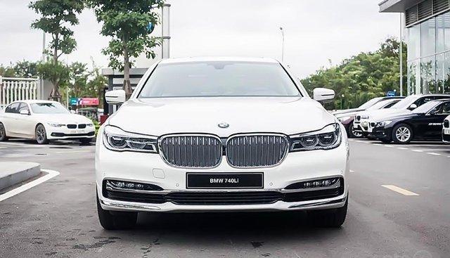Bán xe BMW 7 Series 740Li sản xuất năm 2019, màu trắng