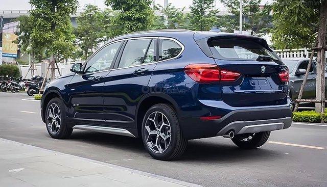 Bán xe BMW X1 sDrive18i đời 2019, màu xanh lam, xe nhập