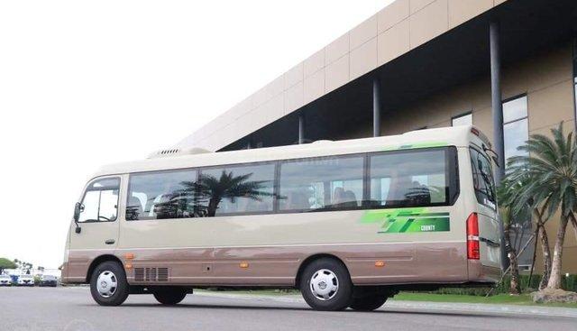 Xe khách Hyundai County 29 chỗ, khuyến mãi 30tr + vàng 9999 may mắn, hỗ trợ trả góp