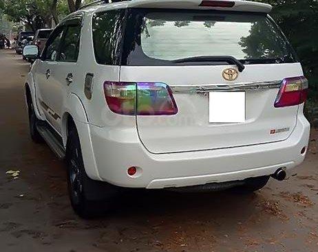 Bán Toyota Fortuner 2010, màu trắng chính chủ, giá chỉ 580 triệu