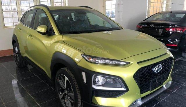 Bán Kona màu vàng chanh cá tính - Xe giao ngay, hỗ trợ vay 85% giá xe