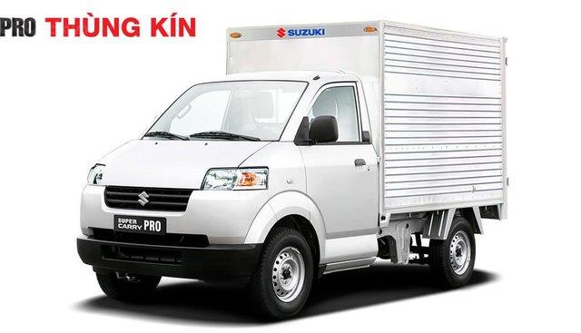Bán Suzuki Super Carry Pro 2018, màu trắng, nhập khẩu nguyên chiếc