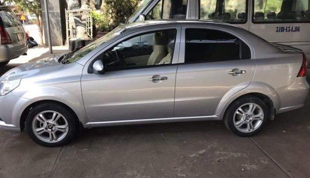 Cần bán xe Chevrolet Aveo đời 2017, màu bạc số sàn, giá 310tr