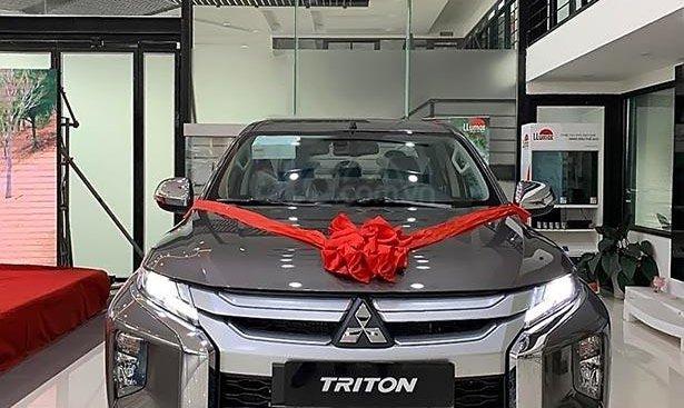 Bán xe Mitsubishi Triton năm 2019, màu xám, nhập khẩu giá cạnh tranh