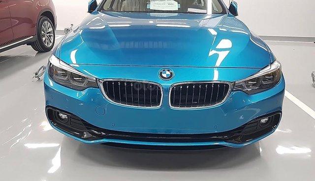 Bán BMW 4 Series 420i Gran Coupe đời 2019, màu xanh lam, nhập khẩu nguyên chiếc